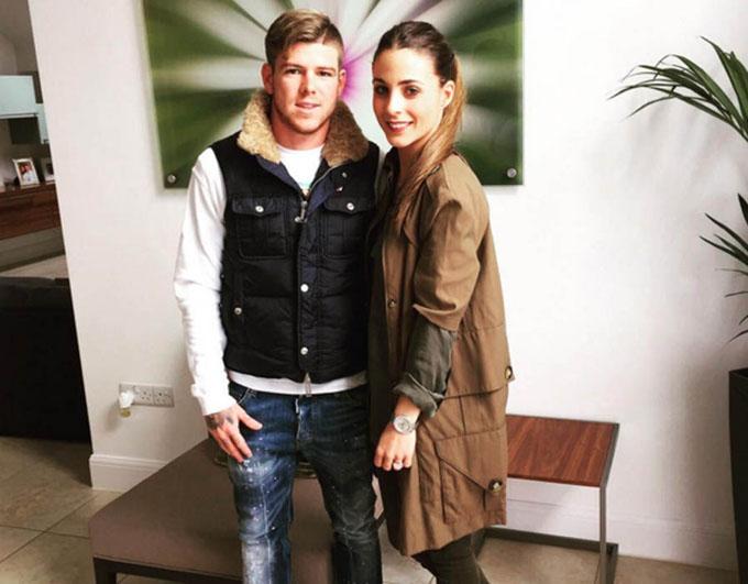 Alberto Moreno & bạn gái Lilia