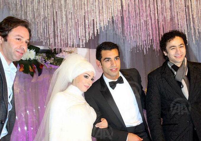 Magi và ông xã Mohamed Salah